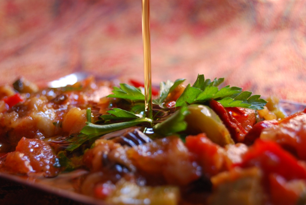 Moutabah - ratatouille syrienne - recette my sweet Alep